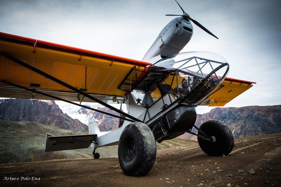 samolot typu bush plane
