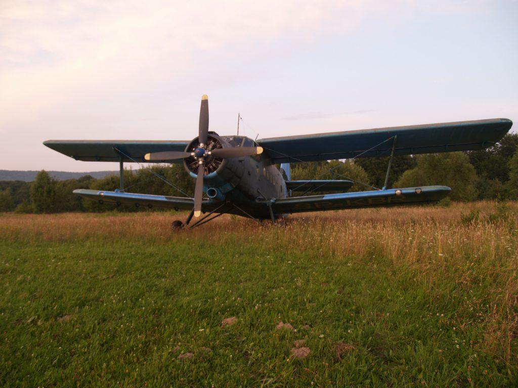 Pilotaż na nieskoszonym lądowisku