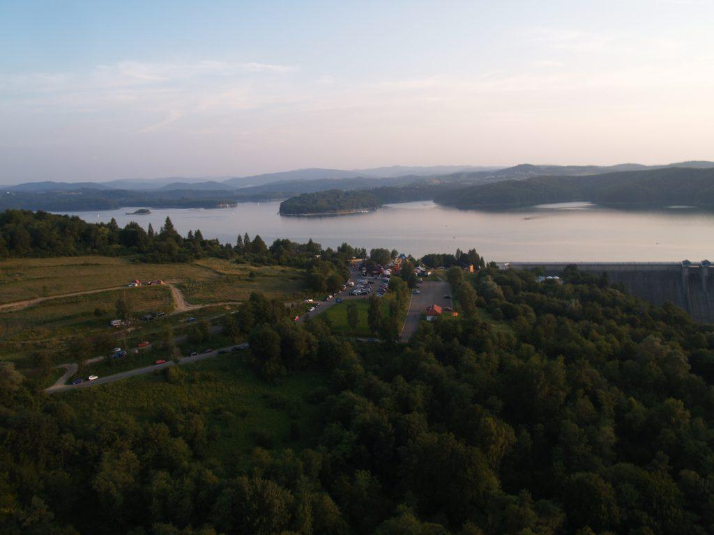 Usługi dronami - Zdjęcia z drona Jeziora Solińskiego i zapory