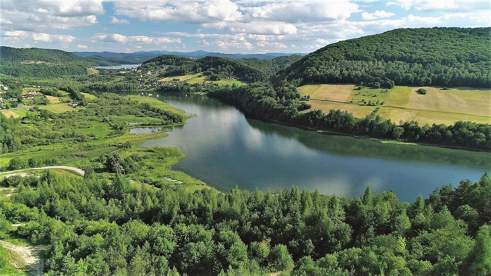Jezioro Myczkowskie koło Soliny