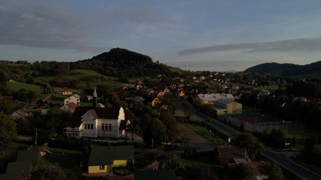 Wieś Bóbrka