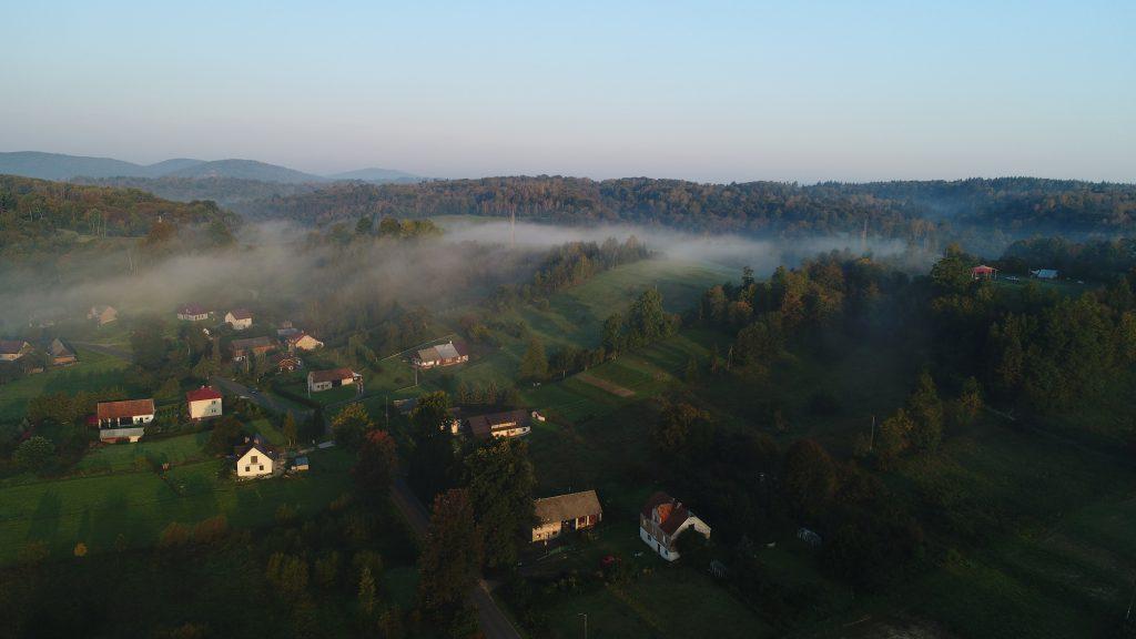 Lokalne mgły w górach