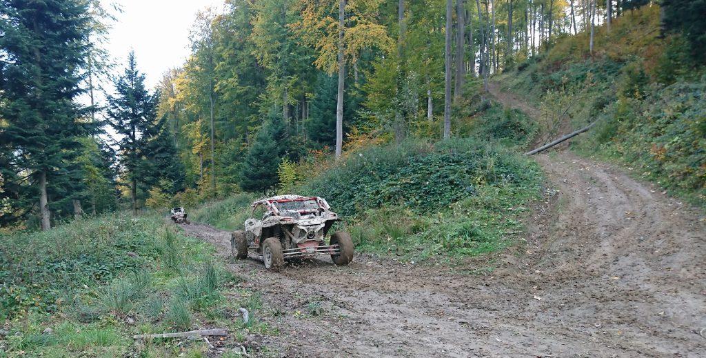 Jazda w cieżkim terenie w BIeszczadach