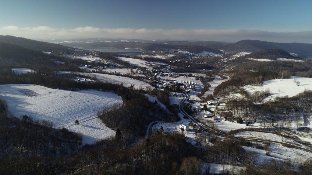 Loty widokowe zimą