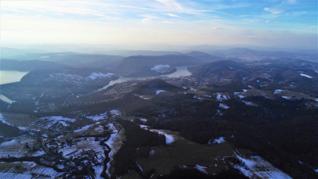 Dolina Sanu końcem zimy